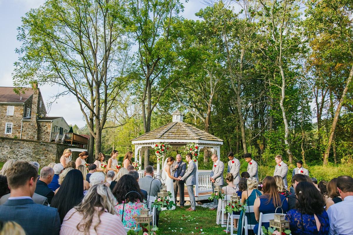 Bally Spring Inn Wedding Venue Ceremony-1 Gazebo